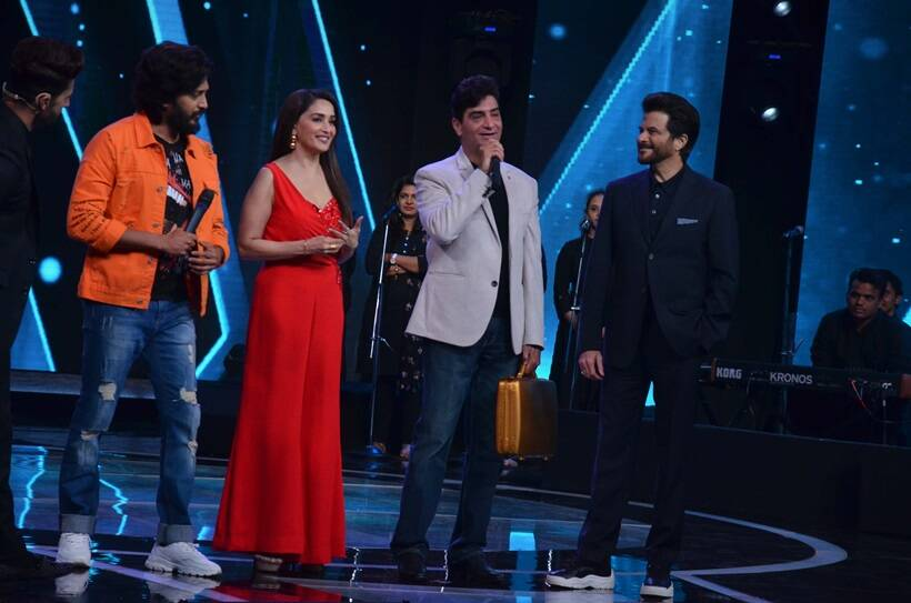 total dhamaal actors madhuri dixit anil kapoor and riteish deshmukh