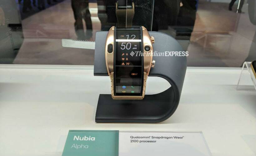 Nubia, Nubia Alpha, Nubia Alpha MWC 2019, MWC 2019, Nubia Alpha launched, Nubia Alpha price, Nubia Alpha India launch, Nubia Alpha price in India, Nubia Alpha first look, Nubia Alpha review, Nubia Alpha pictures