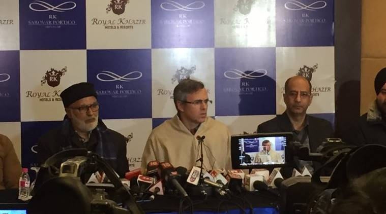 Omar Abdullah, NC leader, Omar abdullah press conference, omar abdullah on PM Modi, pulwama attack, attack on kashmiris, kashmir issue, imran khan, Omar abdullah on separatist leaders, Omar abdullah on Comgress, indian express