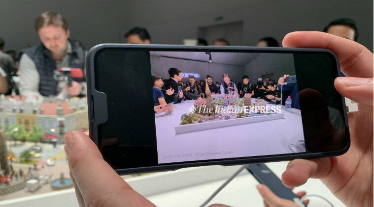Oppo 10x lossless zoom camera, oppo 10x optical zoom, oppo 10x camera zoom mwc 2019, mwc 2019 oppo 10x zoom lens, oppo 10x zoom lens tech, oppo mwc, oppo