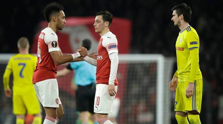Alex Iwobi Hails Mesut Ozil's Impact But Unai Emery Keen On Rotation