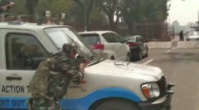 Security Scare After Congress Mp's Car Rams Into Parliament Barricade