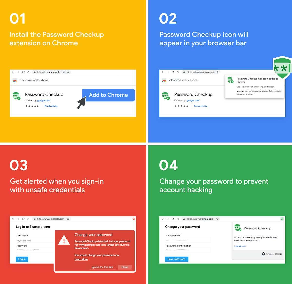 Google, Google Password Checkup, Google Password Checkup Chrome extension, Google Password extension, Google Cross Account protection, Google Cross account