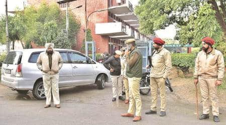 PAU, PAU news, air pistol, student fires air pistol, police on pau campus, indian express