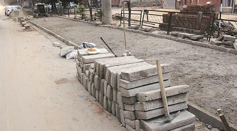 Chandigarh: It's raining pavers on internal roads