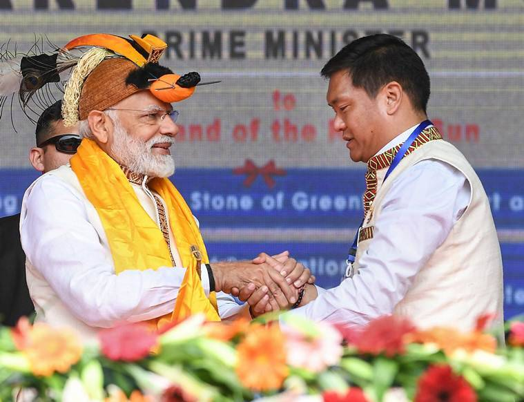 China objects to PM Modi's visit to Arunachal, MEA says state'inalienable' part of India
