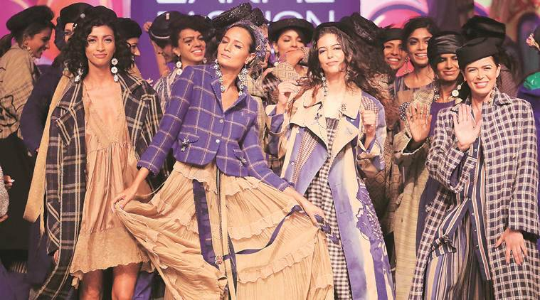 Sustainable Fashion Day At Lakme Fashion Week Summer Resort 2019 Highlighted The Need For Creative Collaborations And Imaginative Upcycling Lifestyle News The Indian Express