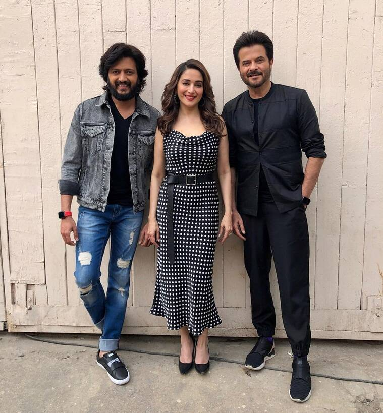 madhuri dixit with anil kapoor