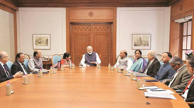 Cabinet approves President's rule in J&K for another six months
