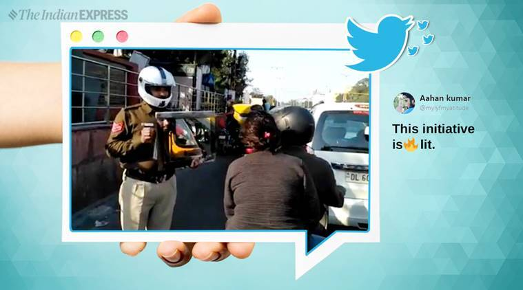 Delhi Traffic Police Hold Up Mirror To Law-breaking Citizens, Gets Praise Online