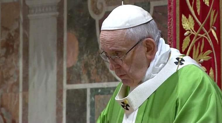 Sri Lanka blasts: Pope condemns Easter attacks as 'such cruel violence'