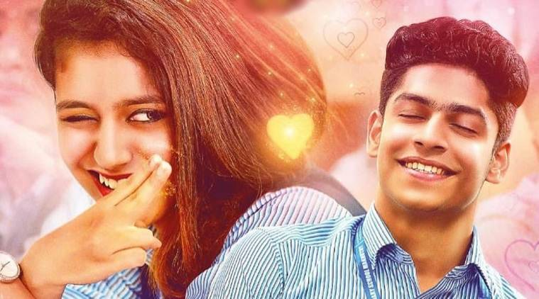 Priya Varrier shocks everyone with a lip lock scene