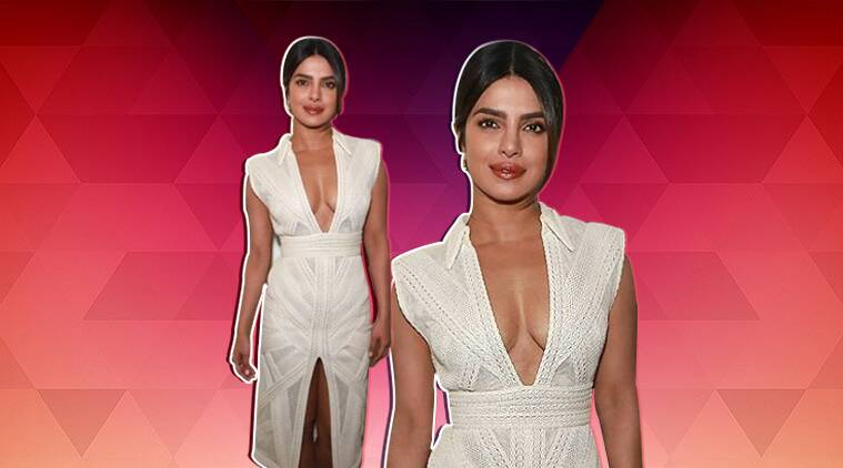 priyanka chopra, priyanka chopra nick jonas grammy's, priyanka chopra grammy's, priyanka chopra pictures. priyanka chopra style file, priyanka chopra fashion, priyanka chopra photos, priyanka chopra pics, priyanka chopra celeb fashion, indian express, indian express news