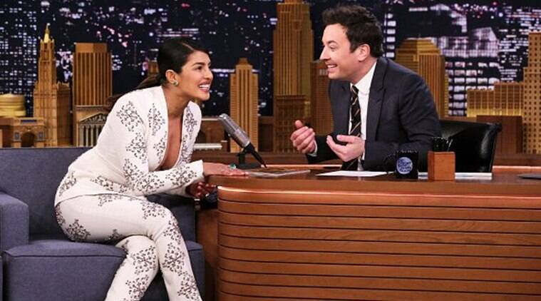 Priyanka Appears on Jimmy Fallon, Talks Taking The Jonas Name