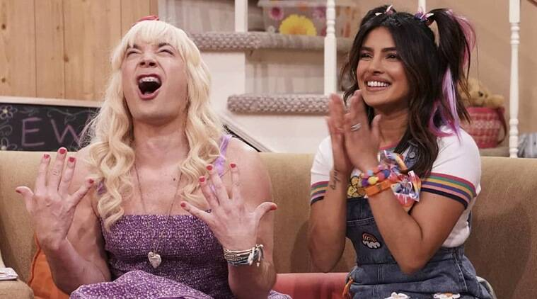 Priyanka Chopra's Never-before-seen Avatar On Jimmy Fallon's Show, See Photos And Videos