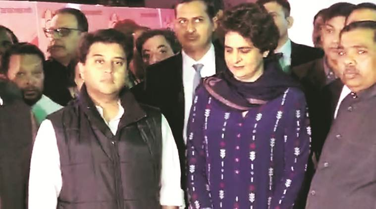Priyanka Gandhi, Congress Priyanka Gandhi, Robert Vadra, Mahan Dal Congress, Robert Vadra ED probe, Westen UP, Uttar Pradesh politics, Rahul Gandhi, ok sabha elections, general elections, indian express