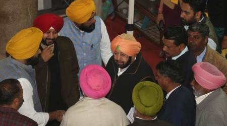 Punjab budget session: On Day-1, sloganeering, walkout, tearing into pieces Gov's speech
