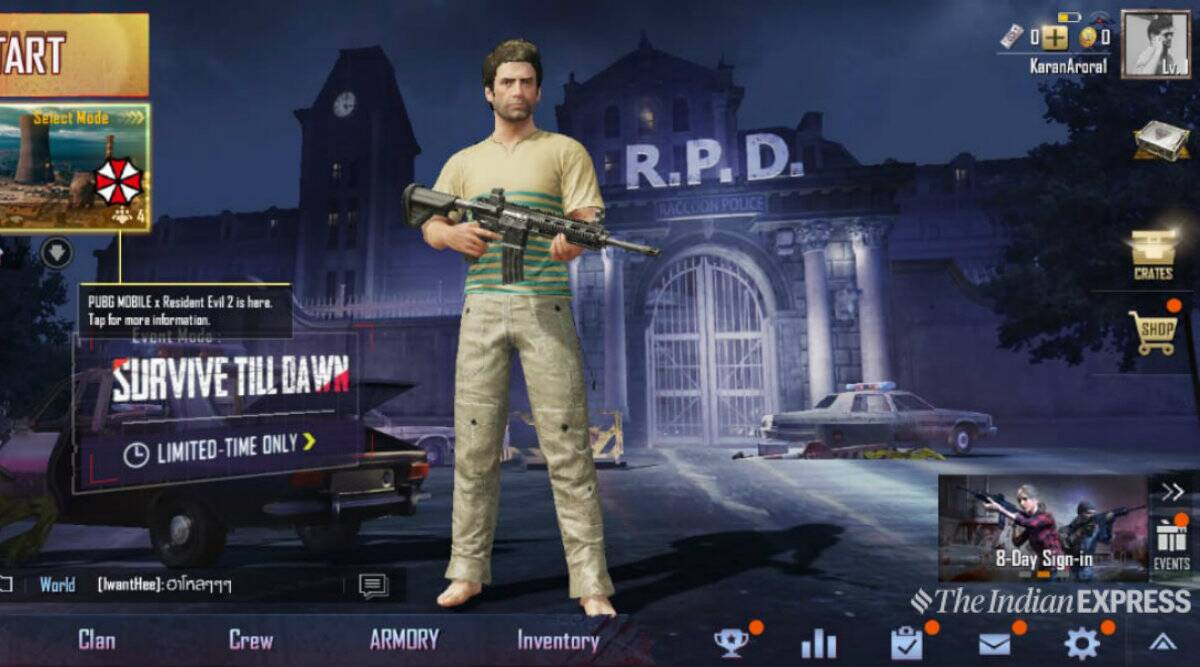 PUBG Mobile Zombie Mode 0 11 0 Update: 0 11 0 update now available