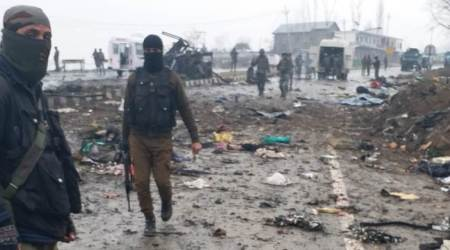 jammu and kashmir terror attack, kashmir terror attack, pulwama attack, pulwama terror attack, awantipora terror attack, crpf, jaish e mohammed, isi, masood azhar, pakistan, terrorist groups, india, india pakistan relations, terrorism, united states, china, indian express news