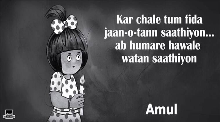 Pulwama attack: Amul's tribute to CRPF jawans has people very emotional