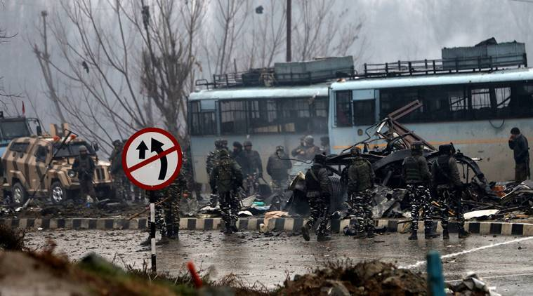 Image result for pulwama attack