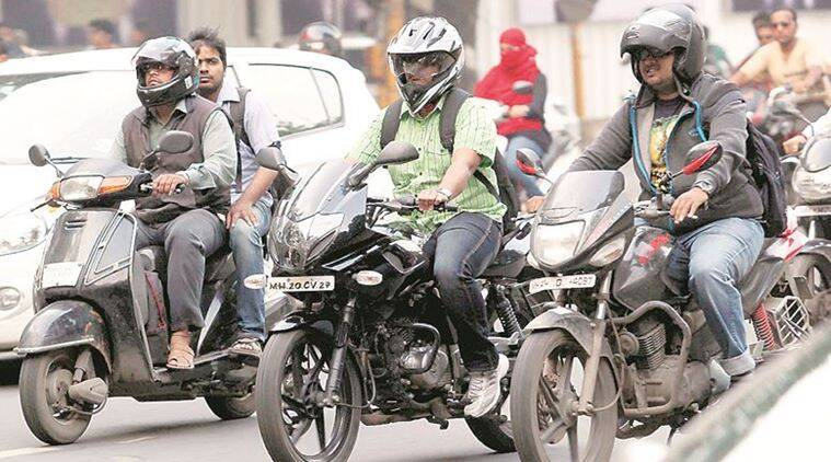 Pune: E-surveillance to catch helmet-less riders, drivers using cellphones, smoking at wheel