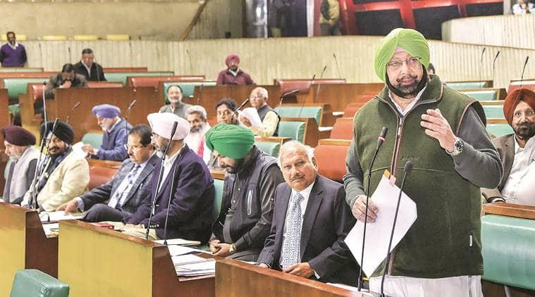 Punjab assembly, Punjab budget, punjab budget session, budget session punjab, amarinder singh, punjab congress, SAD punjab, Indian express