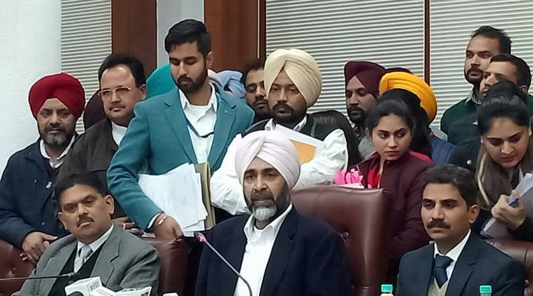 Punjab minister presents budget amid verbal spat between SAD MLAs and Navjot Singh Sidhu