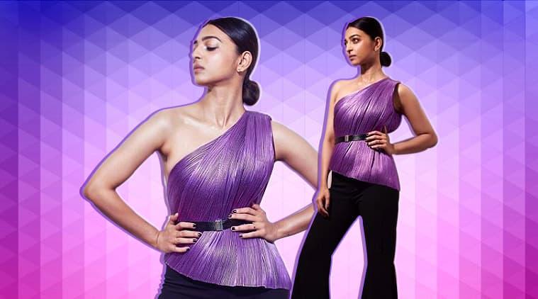 radhika apte, radhika apte fashion, radhika apte rimzim dadu, radhika apte style file, radhika apte looks, radhika apte pics, indian express, indian express news