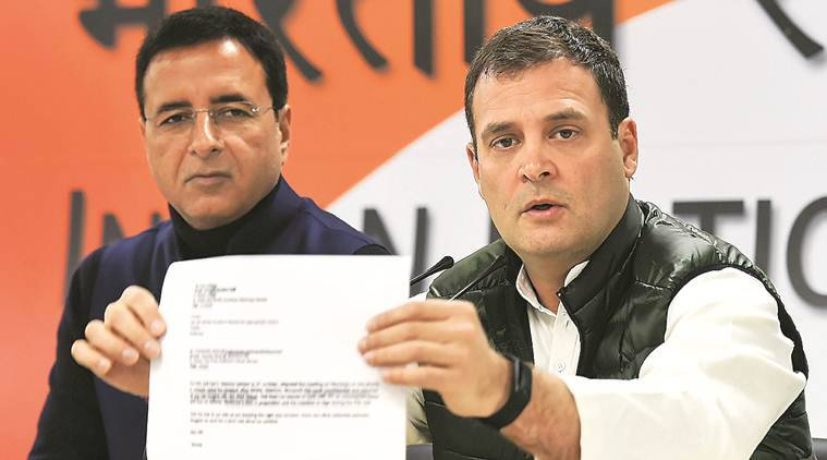 Rahul Gandhi, Narendra Modi, Rahul Gandhi on rafale deal, Anil Ambani PM Modi, Modi treason, Rafale deal, India news, Indian Express