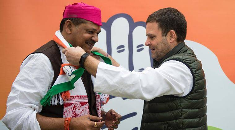 Ex-cricketer, Darbhanga MP Kirti Azad joins Congress | Elections News,The Indian Express