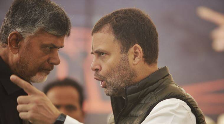 chandrababu naidu, rahul gandhi, lok sabha elections 2019, 2019 lok sabha elections, lok sabha elections, election news, opposition meeting, indian express