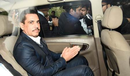 robert vadra, robert vadra aide arrest, robert vadra money laundering case, cc thampi, robert vadra corruption case, sonia gandhi, indian express news