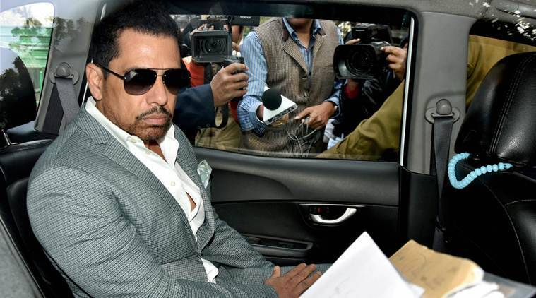 robert vadra, robert vadra questioning, ed questions robert vadra, ed questioning, money laundering case, pmla, indian experss