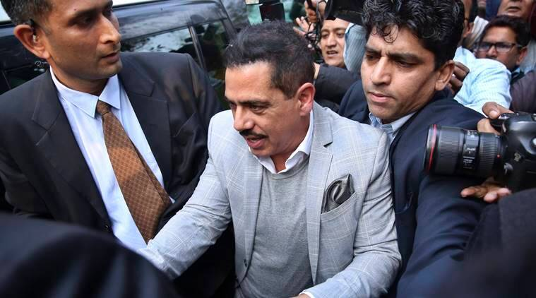 Image result for ED grills Vadra & Priyanka says she will stand by him
