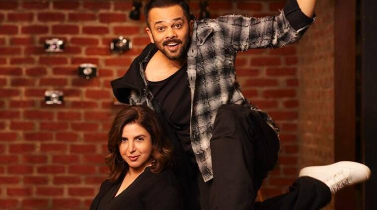 rohit shetty and farah khan collaborate