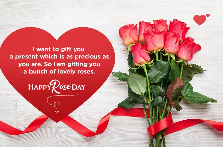 Happy Rose Day 2019 Wishes Images Status Shayari Photos Quotes