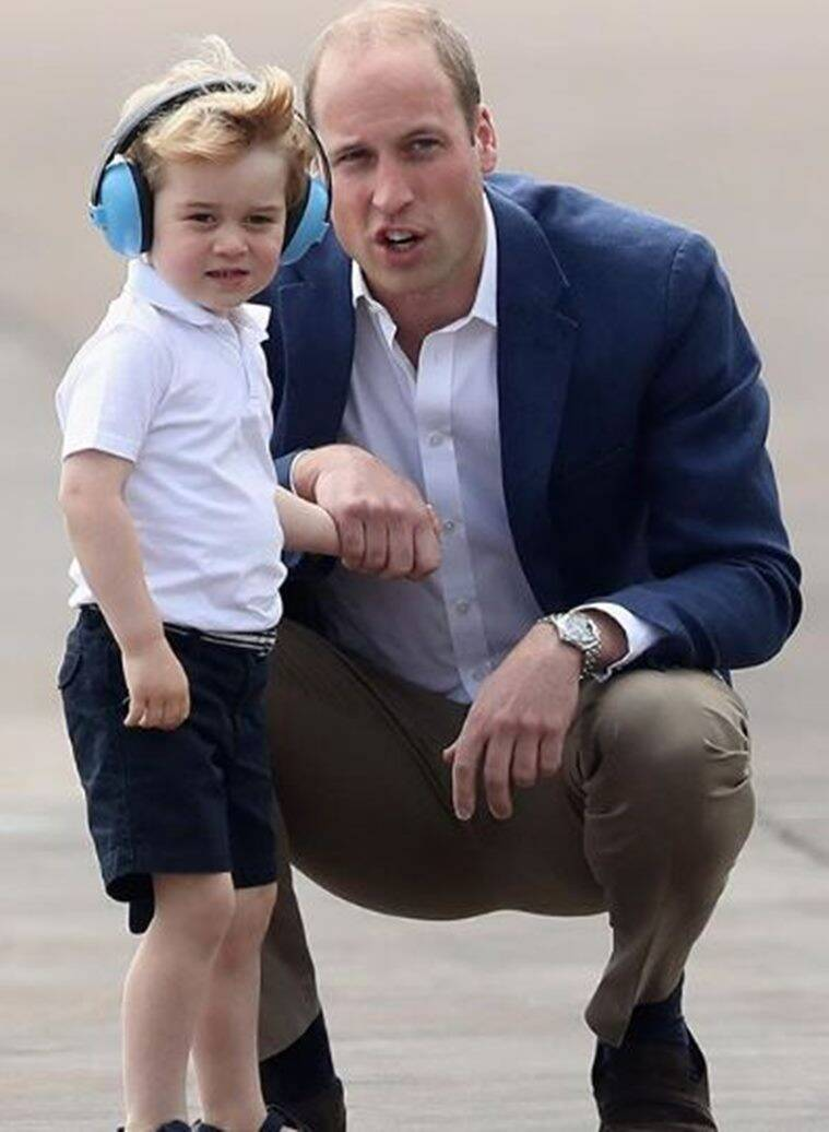 prince william prince george parenting
