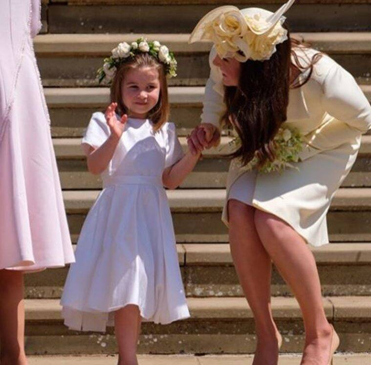kate middleton charlotte parenting