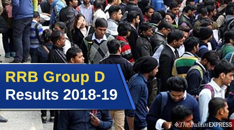 Rrb Group D Results 2018-19 In March