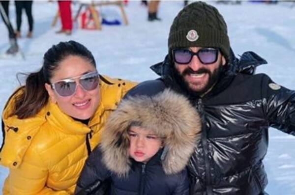 Saif, Kareena and Taimur