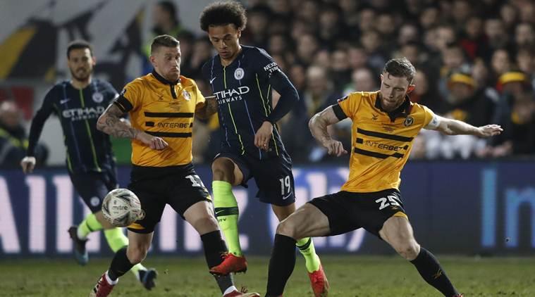 Fa Cup Round-up: Manchester City Overcome Stubborn Newport To Reach Quarters
