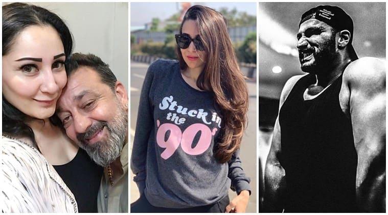 Sanjay Dutt, Karisma Kapoor and Arjun Kapoor