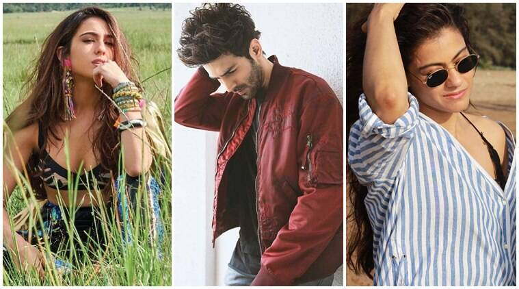 Sara Ali Khan, Varun Dhawan Kajol social media photos