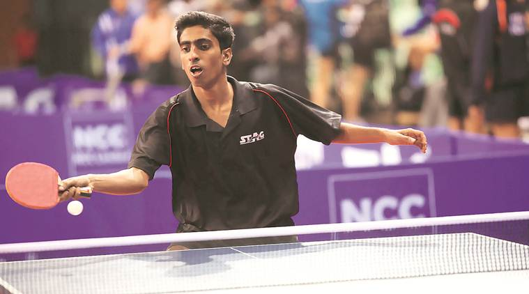 table tennis, Gnanasekaran Sathiyan, Gnanasekaran Sathiyan TT, Gnanasekaran Sathiyan table tennis, table tennis Indian national team, sports news, indian express