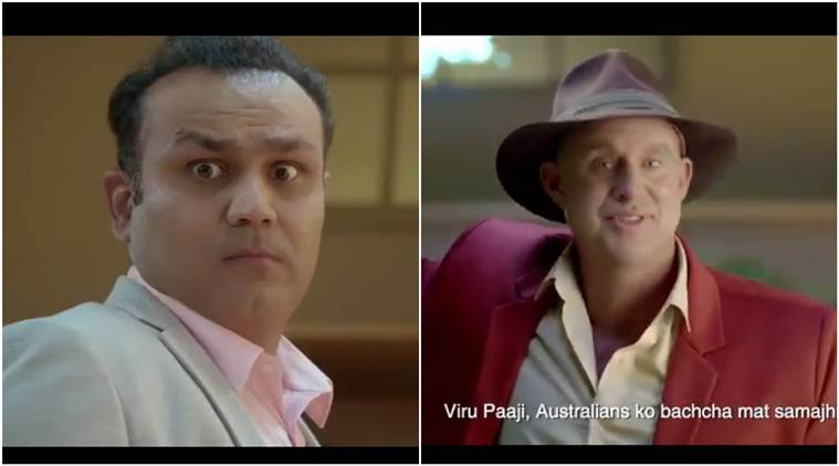 India vs Australia: Matthew Hayden gives witty reply to Virender Sehwag's 'babysitting' ad