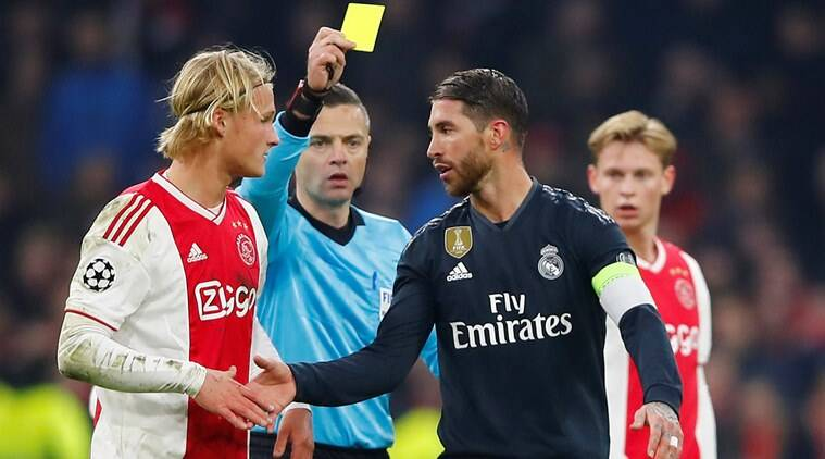 Champions League: Sergio Ramos Says He Got Yellow Card On Purpose Against Ajax