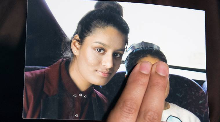 Shamima Begum Shamima Begum UK UK Islamic State Syria Syria Islamic State Shamima Begum Islamic state Indian express latest news