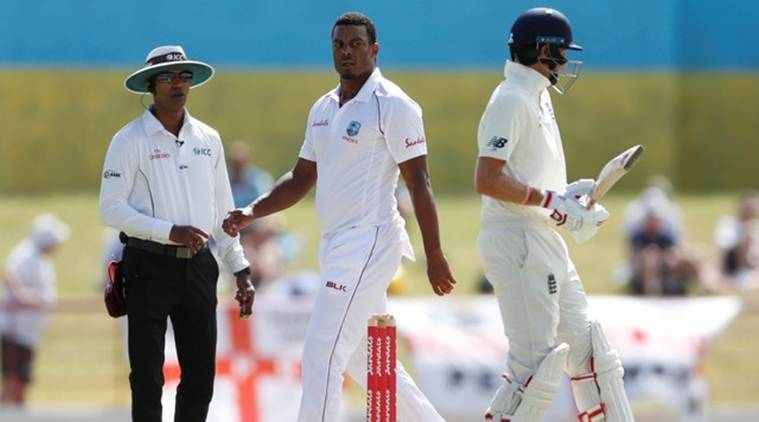 shannon gabriel, shannon gabriel ban, shannon gabriel homophobia, homophobia cricket, england vs west indies, joe root, gabriel root, icc, shannon gabriel west indies, cricket news, sports news, indian express cricket news