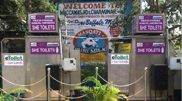 Exclusive free-to-use ladies toilets launched in Hyderabad